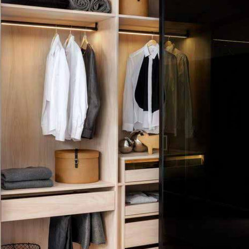 Closet Eco Walkin Glass Door